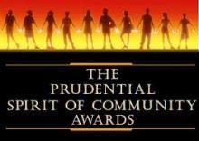 NATIONAL PRUDENTIAL SPIRIT OF THE COMMUNITY AWARD, WASHINGTON, DC