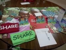 SHARE in Africa at Ridge High School Back to School Night