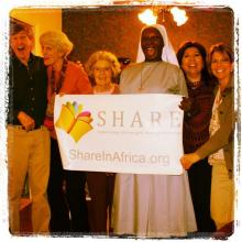 """Women's Global Connection worked with """"SHARE in Africa"""" to further girls education in Tanzania"""