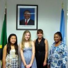 """The Tanzanian Embassy supports """"SHARE in Africa""""'s work in empowering girls through education"""