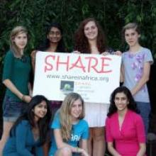 """C.R.A.F.T is fundraising for """"SHARE in Africa"""" to help girls education in Tanzania"""