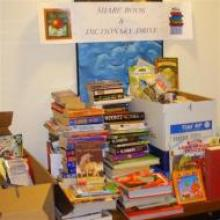 """Markel Insurance Company held a book drive for the """"SHARE in Africa"""" girls in Tanzania"""